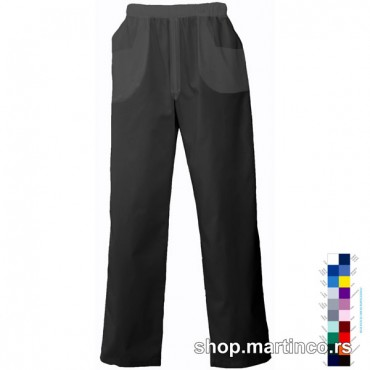 Male pants rubber band