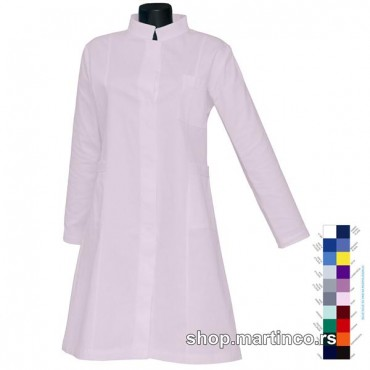 Women coat Russian collar