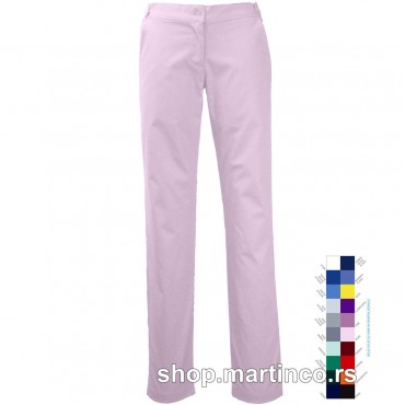 Woman pants Cigaret