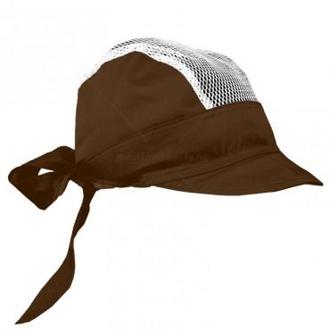 Scarf cap whit a net