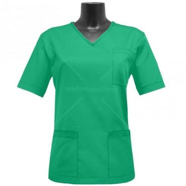 Woman blouse v-neck sleeve