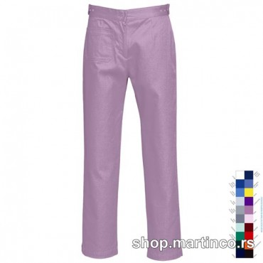 Woman pants zipper