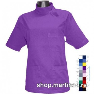 Woman blouse Side Buttoning
