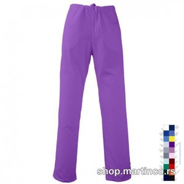 Woman pants Semi-rubber band