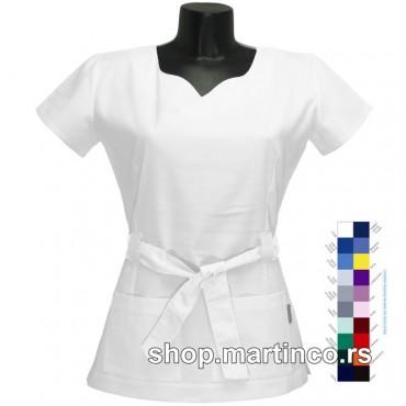 Zenska bluza Sanja crni dugmići