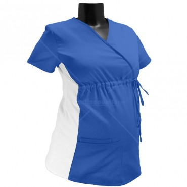 Woman scrub top for Pregnancy